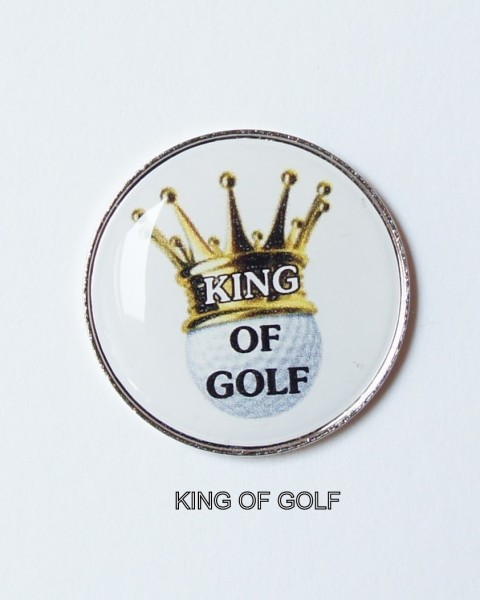 Golfball-Marker KING OF GOLF
